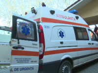 Trei elevi, la spital după ce au fost accidentați de o șoferiță începătoare