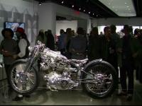Fanii motocicletelor, surprinși cu o expoziție inedită în Los Angeles