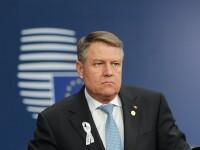 """Iohannis: """"Asistăm la politici publice care ignoră principiile bunei guvernări"""""""