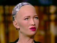Răspunsul robotului Sophia atunci când este întrebată dacă roboții vor înlocui oamenii