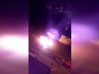 O mașină a luat foc imediat după ce a fost parcată de proprietar. Ipoteza pompierilor
