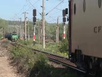 Un tren de călători și unul de marfă au fost la un pas de a se ciocni, în Arad