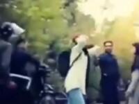 Protest inedit în Teheran pentru condamnarea violențelor împotriva femeilor. VIDEO