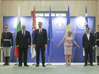 Viorica Dăncilă, discuții cu președintele Serbiei și premierii Greciei și Bulgariei