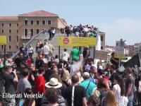 Măsură controversată pentru limitarea aglomerației din Veneția, în vacanța de 1 mai