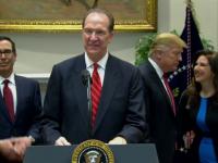 Unul dintre susținătorii lui Donald Trump, numit președintele Băncii Mondiale