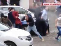 Polițiști atacați cu pietre de o familie din Tulcea. Totul a pornit de la un accident