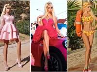 A investit 150000 euro pentru a deveni Barbie, dar spune că n-are prieteni. Cum arată tânăra