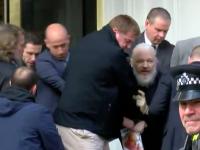 Mesajul codat pe care Julian Assange l-a transmis în timp ce era arestat