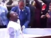 """""""Miracol"""" o dată în viață. Ce s-a întâmplat cu bărbatul care și-a înscenat învierea. VIDEO"""