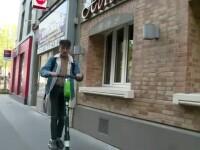 Pericolul la care se expun cei care folosesc trotinetele electrice. Experimentul făcut de francezi