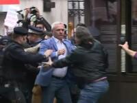 """Reacția lui Dragnea după ce protestatarii au scandat """"Ciuma roșie"""" și """"Șobolanule"""". VIDEO"""