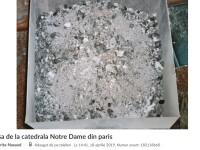 Românii au scos la vânzare pe internet cenușă de la Notre-Dame. Prețurile afișate