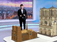 REALITATE AUGMENTATĂ. Până la reconstrucție, în fața Notre Dame va apărea Biserica Efemeră