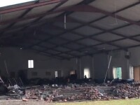 Cel puţin 13 morţi, după ce zidul unei biserici s-a prăbușit în timpul slujbei. VIDEO