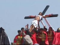 Credinciosul care a fost răstignit în ultimii 33 de ani, în Vinerea Mare. VIDEO