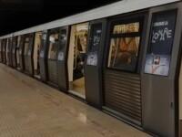 Fisură în șina de la metrou, la stația Pipera. Anunțul Metrorex privind circulația trenurilor