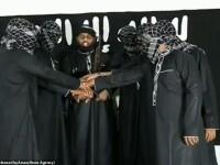 Momentul în care teroriștii din Sri Lanka ar depune jurământ de credință liderului ISIS