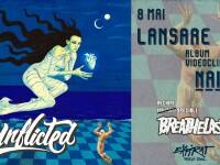 Trupa românească de alternativ-rock Unflicted își lansează primul album. Interviu cu Vlad B. și Vlad P.
