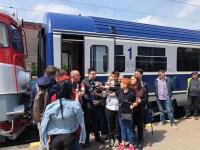 Trenul cu care a mers ministrul Transporturilor a ajuns cu 4 minute mai devreme la destinație