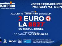 Timișoreana dă startul inițiativei naționale de strângere de fonduri #separațidarîmpreună, alături de Crucea Roșie Română