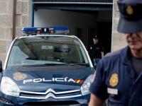 Un român a agresat patru polițiști în Spania. La Comisariat, s-a ascuns în toaleta femeilor