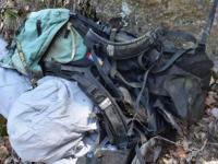 Descoperire stranie in muntii Capatanii. Imaginile misterioase dintr-un aparat foto gasit de politie