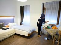 Persoanele fără adăpost sunt cazate la hoteluri de lux în Elveția, pe timpul pandemiei de coronavirus