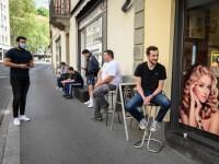 Primele lucruri făcute de elvețieni după relaxarea restricțiilor: tunsorile și vizitele la dentist