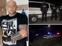 Bărbat împușcat de polițiști după ce i-ar fi amenințat cu toporul