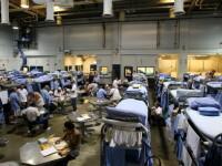 Val de infectări cu coronavirus în închisorile din SUA. 70% din teste au fost pozitive