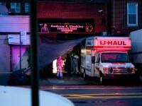 Camioane pline cu cadavre descoperite în New York.
