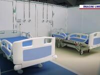 Săli de sport transformate în secții pentru tratarea bolnavilor de COVID-19