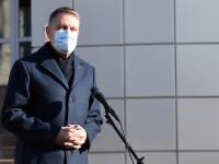 Președintele Klaus Iohannis va susține o declarație de presă la ora 18.15, la Palatul Cotroceni