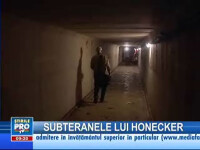 Vizite la buncărul fostului lider RDG Erich Honecker, până în octombrie