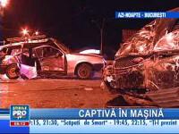 Un şofer neatent şi-a pus în pericol viaţa, dar şi pe cea a pasagerilor!