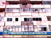 Scene şocante în Capitală! O tânără de 24 de ani s-a aruncat de la etajul 8