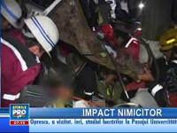 Doi răniţi grav în urma unui accident rutier pe DN1, în Comarnic