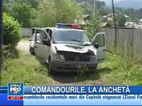Continuă cercetările în cazul echipajului de poliţie atacat la Borşa