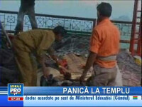 În India, 140 de oameni au murit călcaţi în picioare într-un templu