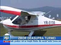 Doi ciobani din Alba şi-au survolat turmele cu avionul