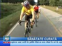Drumul până la serviciu, sport extrem pentru doi americani!
