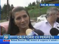 Elena Băsescu a ajuns cu ajutoarele pentru sinistraţi la graniţa cu Ucraina