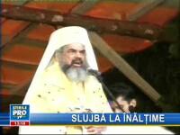 Patriarhul Daniel, prezent la sfinţirea mănăstirii ridicate la cota 1.400