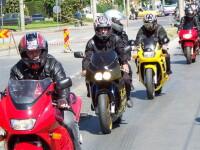 Atentionarea politistilor catre soferi: In trafic exista motociclisti!
