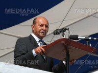 Traian Băsescu a participat la maniferările dedicate Zilei Marinei