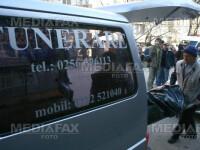 Un batran si-a gasit sfarsitul in piata centrala din Targu Jiu