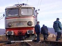 A fost spulberat de tren in timp ce urina pe calea ferata!