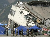 25 de morti si 200 de raniti, dupa un cutremur de 6,1 grade in Sichu