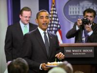 Barack Obama si-a sarbatorit cei 48 de ani alaturi de o jurnalista!